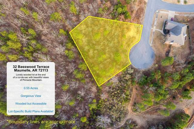 32 Basswood, Maumelle, AR 72113 (MLS #21030162) :: United Country Real Estate