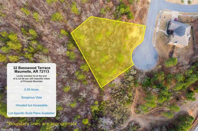 32 Basswood Terrace, Maumelle, AR 72113 (MLS #20025148) :: United Country Real Estate