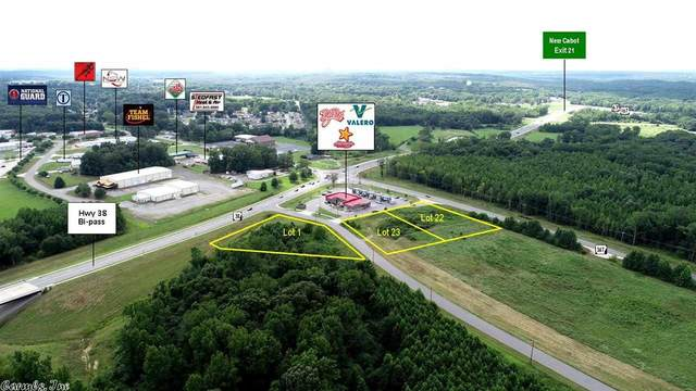 0 Hwy 38 & Jayden Commercial, Cabot, AR 72023 (MLS #20026431) :: United Country Real Estate