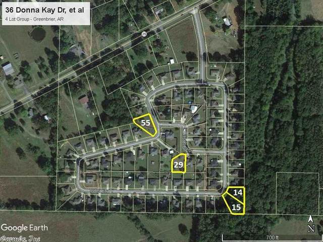 36 Donna Kay Dr (4 Lots Total), Greenbrier, AR 72058 (MLS #19031873) :: United Country Real Estate