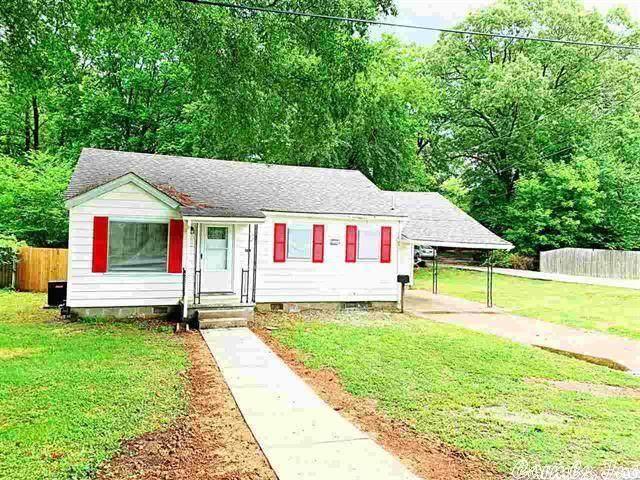 1216 Haltom, Jonesboro, AR 72401 (MLS #21015315) :: The Angel Group