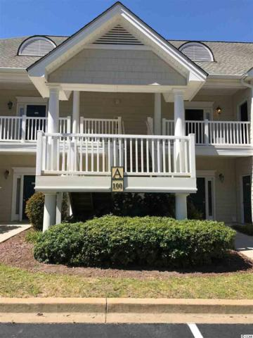 100 Scotchbroom Drive A-101, Little River, SC 29566 (MLS #1708048) :: James W. Smith Real Estate Co.