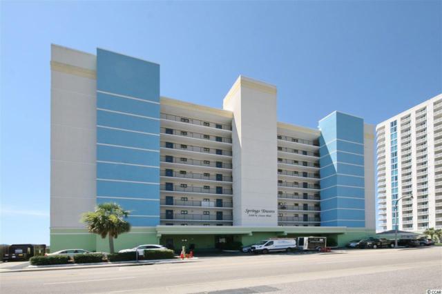 2200 N Ocean Blvd. #302 #302, North Myrtle Beach, SC 29582 (MLS #1712856) :: The Litchfield Company