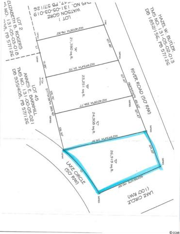 TBD-Lot D River Rd. And Lake Circle, Little River, SC 29566 (MLS #1713734) :: The Hoffman Group