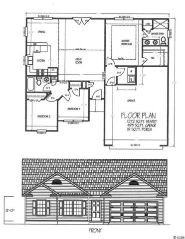609 West Perry  Rd, Myrtle Beach, SC 29579 (MLS #1713791) :: The HOMES and VALOR TEAM