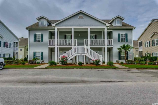 441 Mahogany Drive #101, Murrells Inlet, SC 29576 (MLS #1713850) :: The Hoffman Group