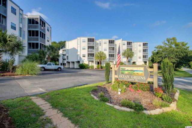 1500 Cenith Dr D-103, North Myrtle Beach, SC 29582 (MLS #1713944) :: The Hoffman Group