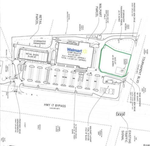 TBD Tournament Blvd., Murrells Inlet, SC 29576 (MLS #1715802) :: The Litchfield Company