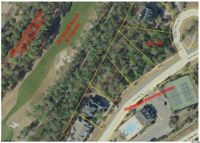 Lot 87 Cascade Dr., Murrells Inlet, SC 29576 (MLS #1716290) :: Myrtle Beach Rental Connections