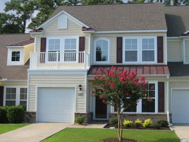 100 Coldstream Cove Loop Unit 105, Murrells Inlet, SC 29576 (MLS #1717677) :: The HOMES and VALOR TEAM