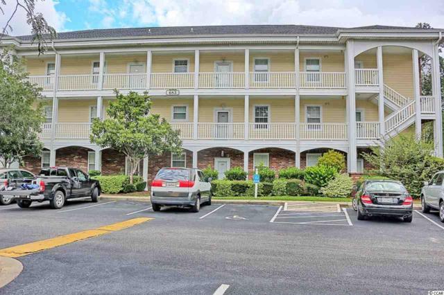 683 Riverwalk Drive #104, Myrtle Beach, SC 29579 (MLS #1720365) :: James W. Smith Real Estate Co.