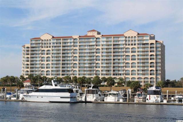 4801 Harbour Pointe #308, North Myrtle Beach, SC 29582 (MLS #1721641) :: SC Beach Real Estate