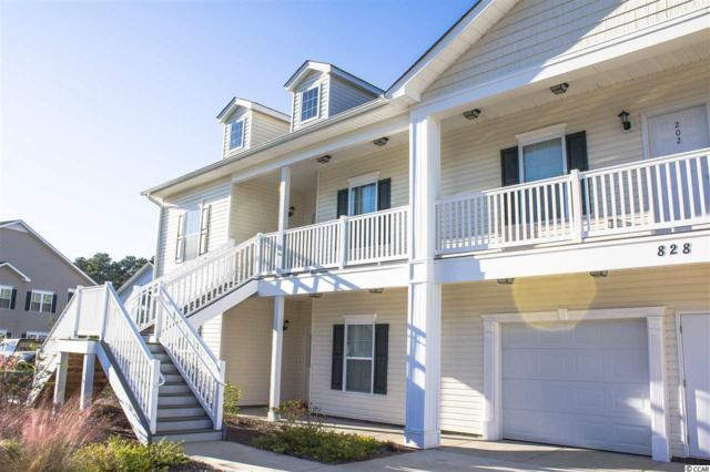 828 Sail Lane #101, Murrells Inlet, SC 29576 (MLS #1724246) :: Trading Spaces Realty