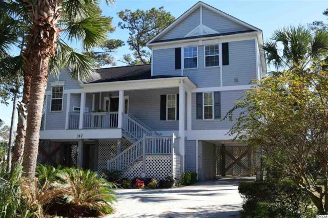 317 Lakeside Dr, Surfside Beach, SC 29575 (MLS #1724447) :: The Litchfield Company