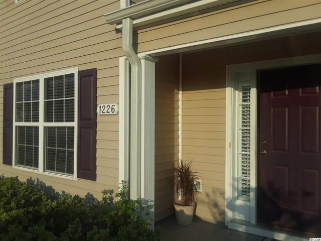 1226 Harvester Circle #1225, Myrtle Beach, SC 29579 (MLS #1725551) :: Myrtle Beach Rental Connections