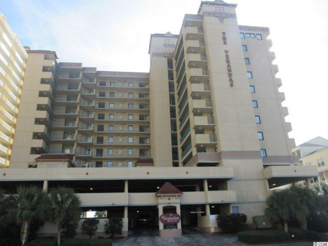 501 S Ocean Blvd #808, North Myrtle Beach, SC 29582 (MLS #1725967) :: The HOMES and VALOR TEAM