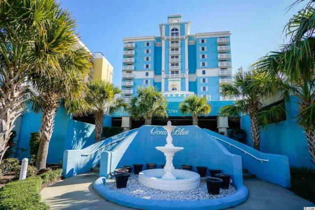 2709 S Ocean Blvd Ph3, Myrtle Beach, SC 29577 (MLS #1726576) :: James W. Smith Real Estate Co.