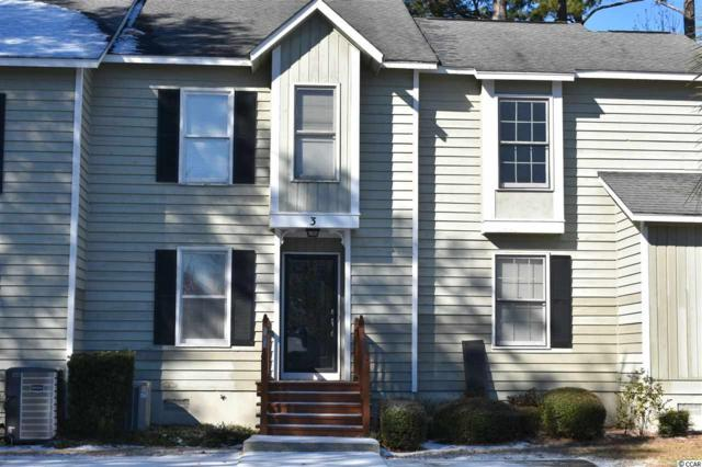 4840 Moss Creek Loop #3, Murrells Inlet, SC 29576 (MLS #1800231) :: James W. Smith Real Estate Co.