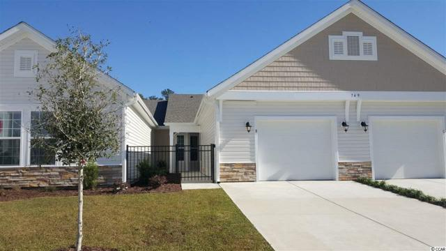 772 Salerno Circle, Unit C 803-C, Myrtle Beach, SC 29579 (MLS #1800816) :: James W. Smith Real Estate Co.