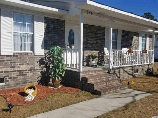759 University Forest Circle, Conway, SC 29526 (MLS #1800957) :: Myrtle Beach Rental Connections