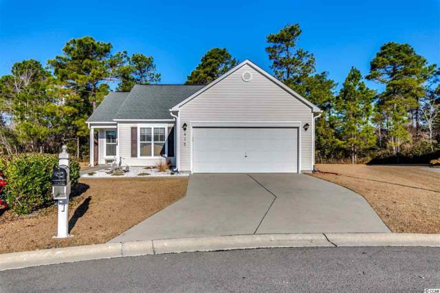 417 Abercromby Court, Myrtle Beach, SC 29579 (MLS #1801032) :: The Greg Sisson Team with RE/MAX First Choice