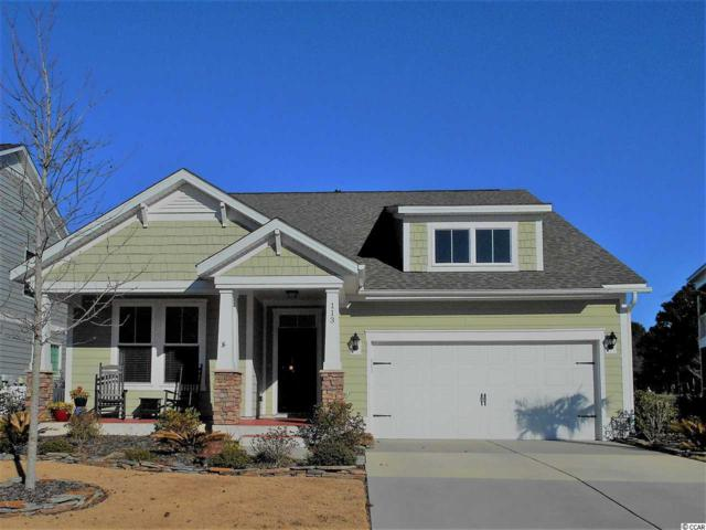 113 Champions Village Drive, Murrells Inlet, SC 29576 (MLS #1801057) :: The Greg Sisson Team with RE/MAX First Choice