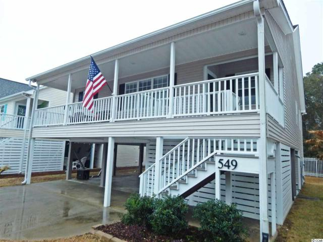 549 Bay Dr. Ext, Garden City Beach, SC 29576 (MLS #1801466) :: Myrtle Beach Rental Connections