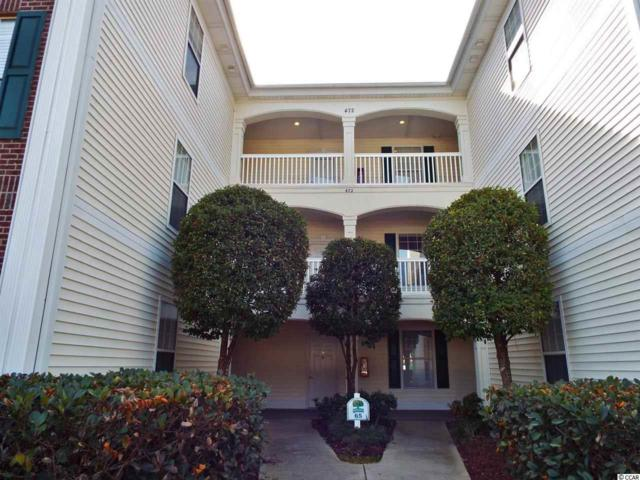 472 River Oaks Drive Unit 65-H, Myrtle Beach, SC 29579 (MLS #1801913) :: Myrtle Beach Rental Connections
