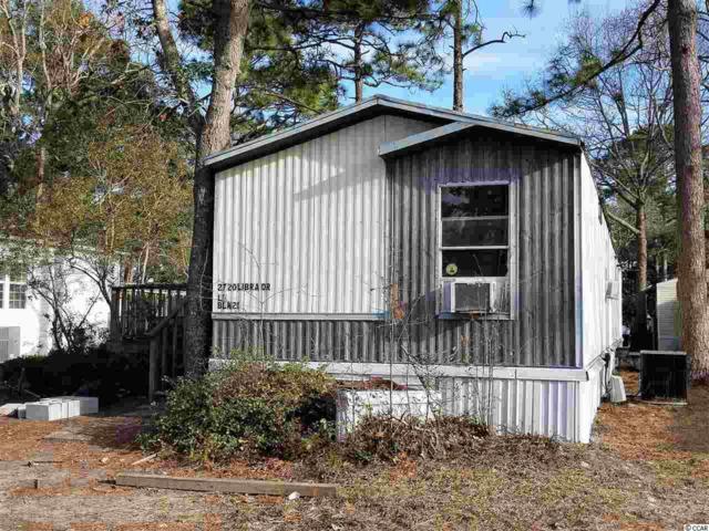 2720 Libra Dr, Myrtle Beach, SC 29575 (MLS #1803391) :: The Litchfield Company
