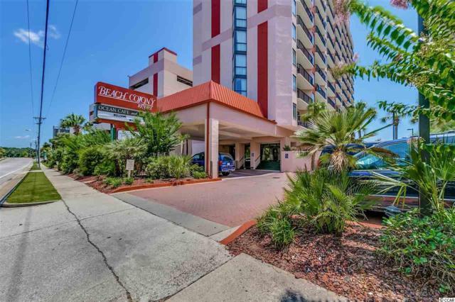 5308 N Ocean Blvd #1605, Myrtle Beach, SC 29577 (MLS #1804386) :: Silver Coast Realty