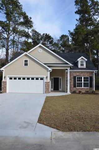 115 Sly Fox Trail, Myrtle Beach, SC 29588 (MLS #1806019) :: The HOMES and VALOR TEAM