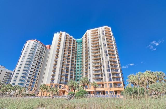 2710 N Ocean Blvd #302 #302, Myrtle Beach, SC 29577 (MLS #1806701) :: James W. Smith Real Estate Co.