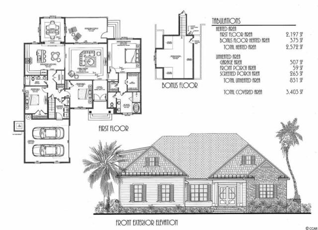 2801 Sourgrass, Myrtle Beach, SC 29579 (MLS #1807313) :: The Litchfield Company