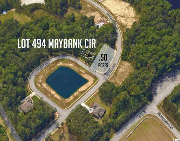 Lot 494 Maybank Cir, Myrtle Beach, SC 29588 (MLS #1807893) :: The Litchfield Company