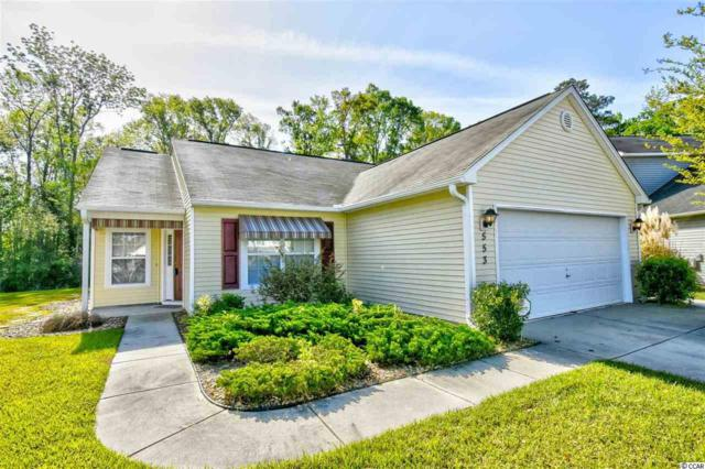 553 Fort Moultrie Ct, Myrtle Beach, SC 29588 (MLS #1808217) :: The Litchfield Company