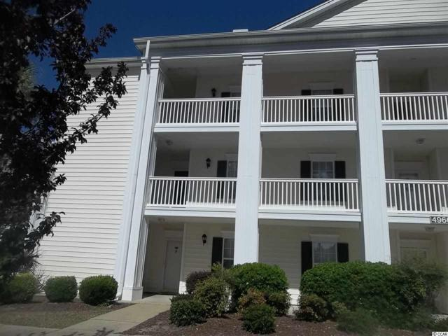 4960 Windsor Green Way #201, Myrtle Beach, SC 29579 (MLS #1808753) :: Silver Coast Realty