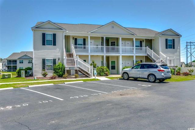 4930 Crab Pond Ct. #102, Myrtle Beach, SC 29579 (MLS #1809398) :: The Greg Sisson Team with RE/MAX First Choice