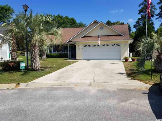2487 Oriole Drive, Murrells Inlet, SC 29576 (MLS #1810140) :: The Greg Sisson Team with RE/MAX First Choice