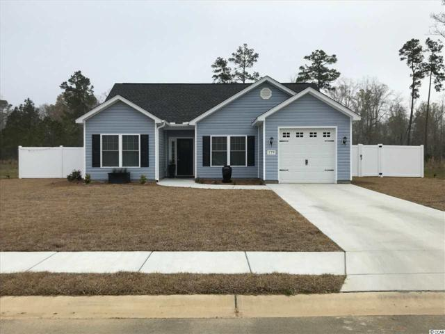 154 Springtide Drive, Conway, SC 29527 (MLS #1810247) :: Myrtle Beach Rental Connections
