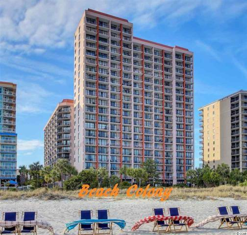 5308 N Ocean Blvd #417, Myrtle Beach, SC 29577 (MLS #1811522) :: Matt Harper Team