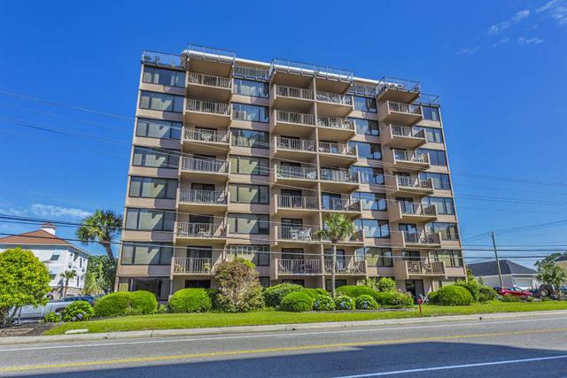 7603 N Ocean Blvd. 3 G, Myrtle Beach, SC 29572 (MLS #1811952) :: The Litchfield Company