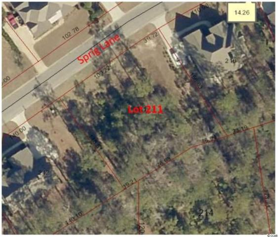 Lot 211 Sprig Ln., Murrells Inlet, SC 29576 (MLS #1813176) :: The Hoffman Group
