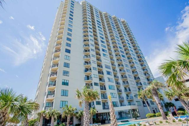1605 S Ocean Blvd Unit 1609 #1609, Myrtle Beach, SC 29577 (MLS #1813237) :: Trading Spaces Realty