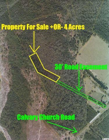 Calvary Church Road, Nichols, SC 29581 (MLS #1813274) :: Myrtle Beach Rental Connections