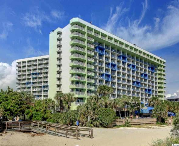 1105 S Ocean Blvd #830, Myrtle Beach, SC 29577 (MLS #1815706) :: The Hoffman Group