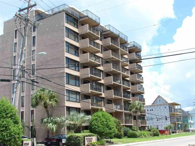7603 N Ocean Blvd. 2-G, Myrtle Beach, SC 29572 (MLS #1816406) :: The Lachicotte Company
