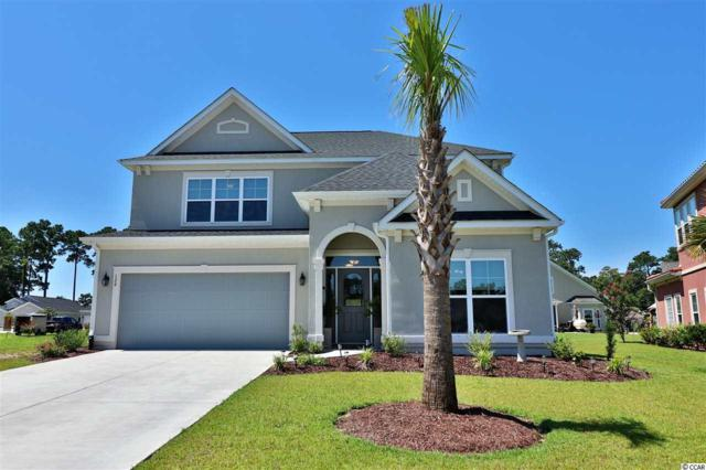 129 Lac Courte, Myrtle Beach, SC 29579 (MLS #1816834) :: The Litchfield Company