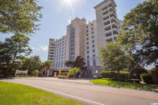 9547 Edgerton Dr. #806, Myrtle Beach, SC 29572 (MLS #1817068) :: The Greg Sisson Team with RE/MAX First Choice