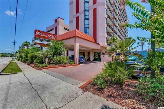5308 N Ocean Blvd #1214, Myrtle Beach, SC 29577 (MLS #1817604) :: Silver Coast Realty