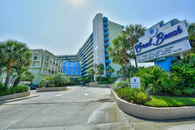 1105 S Ocean Blvd #134, Myrtle Beach, SC 29577 (MLS #1818050) :: Myrtle Beach Rental Connections